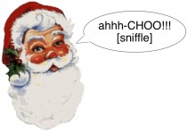 santa claus flu virus
