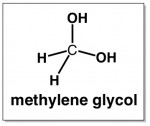 methylene glycol formaldehyde