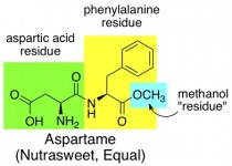 nutrasweet aspartame chemical structure