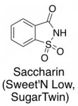 sweet'n low saccharin chemical structure