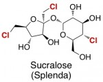 splenda sucralose chemical structure