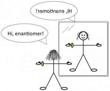 enantiomer chiral molecule