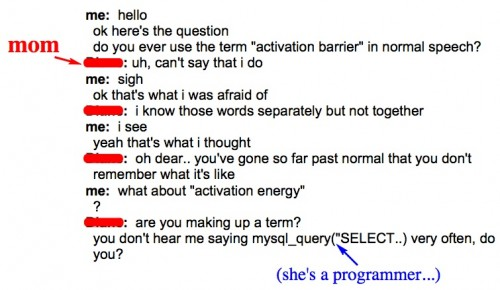 activation barrier energy definition slang