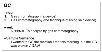 gas chromatography definition