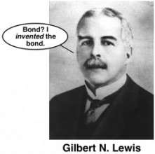 gilbert lewis dot structure lewis acid invention of covalent bond
